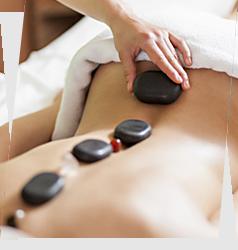 Masaż - masaż gorącymi kamieniami