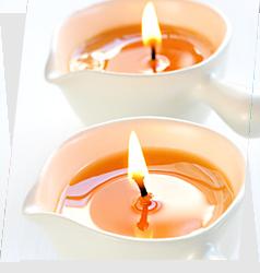 Masaż - masaż świecą